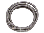 "8' 1/4"" COMPRESSTION  STAINLESS STEEL ICE MAKER HOSE"