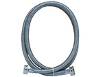 "6' Stainless Steel 3/8"" WASHER FILL HOSE By Frigidaire Electrolux"