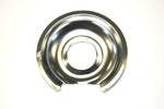 """GE General Electric Hotpoint Sears Kenmore Range Stove Cook Top 6"""" DRIP PAN CHROME"""