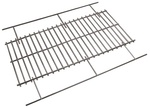 "BBQ EX LARGE PORCELAIN COOKING GRID adjusts from 25.625"" x 14"" to 25.625"" x 19.25"""