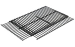 "BBQ FLAT STEAK-HOUSE STYLE PORCELAIN COOKING GRID  adusts from 21.5"" x 13.5"" to 24.5"" x 16.5"""