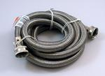 8' Stainless Steel Washing Machine Clothes Washer Water Inlet Fill Hose