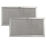 Broan Nutone Sears Kenmore Microwave Oven Range Vent Hood Aluminum Grease Filter Kit - 2 PACK