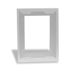 Cadet Manufacturing Heater Com-Pak Plus Heater Surface Mount Adapter Plate White