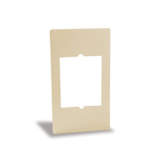 "Cadet Manufacturing Heater Metal Adapter Plate, C Series,  12"" x 21.25"" Almond SAMA"