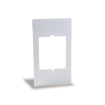 "Cadet Manufacturing Heater Metal Adapter Plate, C Series, 12"" x 21.25"" White SAMW"