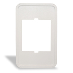 "Cadet Manufacturing Heater Plastic Adapter Plate, 12"" x 21.25"" SAPW White"