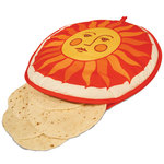 Microwavable and Washable Tortilla Warmer - Sun Design