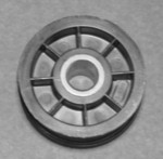 Maytag Speed Queen Alliance Laundry Systems Amana Huebsch Sears Kenmore Clothes Dryer Idler Pulley Wheel