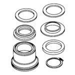 Frigidaire Electrolux Westinghouse Kelvinator Gibson Sears Kenmore Clothes Washer Washing Machine CENTER TUB SEAL KIT