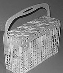 GE General Electric RCA Hotpoint Sears Kenmore Dishwasher SILVERWARE UTENSIL BASKET ASSEMBLY