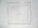 GE General Electric Hotpoint Sears Kenmore Refrigerator VEGETABLE PAN BIN CLEAR