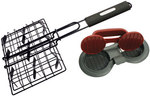 GRILLPRO Non-Stick BURGER SLIDER BASKET AND PRESS SET