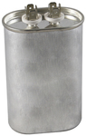370 Volt Oval Run Capacitor 25 MFD - American Made