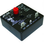 A/C Air Conditioning, Refrigeration and Heat Pump Delay-on-Make Timer with .03-10 minute adjustable delay, 18-240 VAC
