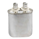 370 Volt Oval Run Capacitor 15 MFD - American Made