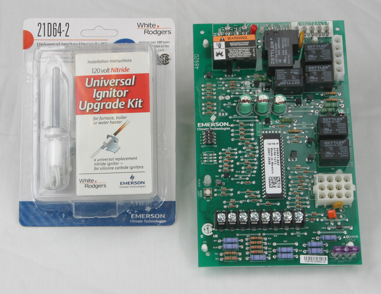 lennox furnace control board. white rogers universal two-stage hsi integrated igniter and module furnace control kit lennox board 2