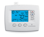 White Rogers Spanish Language Programmable - Universal Emerson Blue Selecto Wall Thermostat