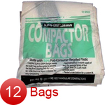 "General Electric Hotpoint Sears Kenmore 15"" Heavy Duty Trash Compactor Bags - Package of 12"