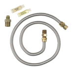Gas Clothes Dryer Connector Hook-up Kit By Whirlpool Maytag