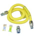 4' Gas Range Flex Connector Kit by Whirlpool Maytag