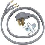 6' 50 AMP 3 WIRE RANGE CORD By GE General Electric Hotpoint